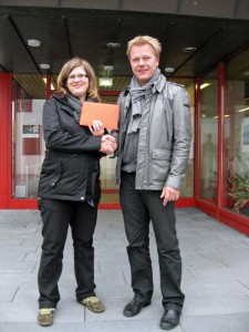 Basar-Team Baindt spendet 500 EUR an den Förderverein